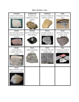 Rocks - Cards - Exploration Works