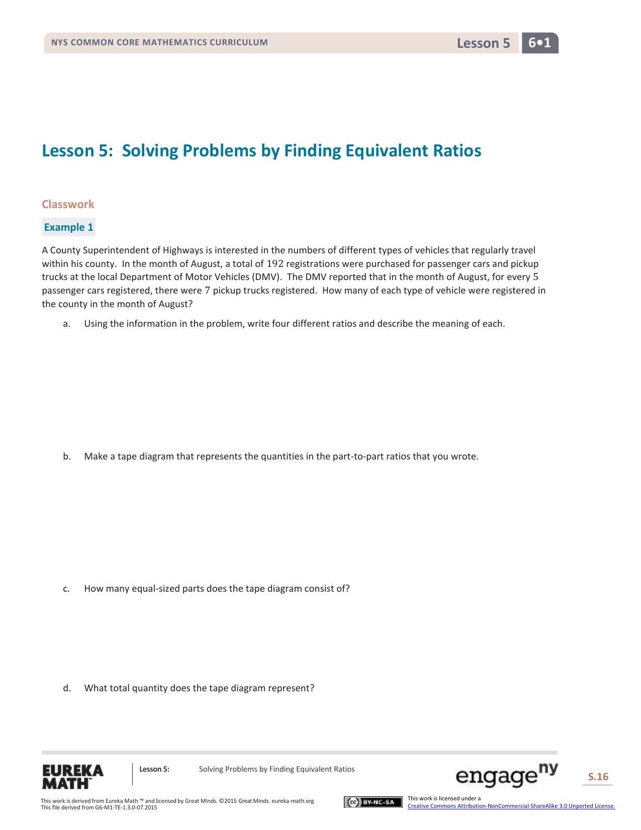 Grade 6 mathematics module 1 topic a lesson 5 ccuart Images