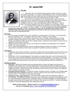James Still Info Sheet