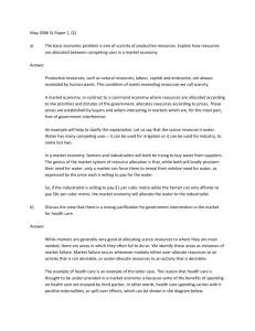 Model Essay Answer – May 2006 SL Paper 1 Q1