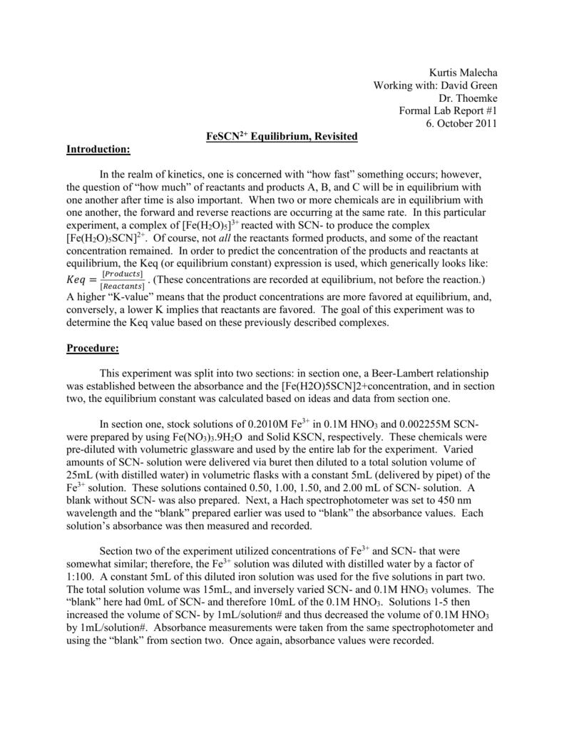 fescn formal report