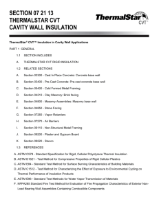 ThermalStar CVT Specification Sheet