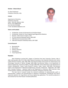Dr. Mani Prabaharan - Research Publisher