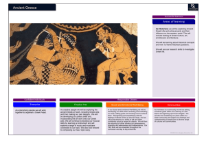 Ancient Greece Newsletter - Bishop Sutton & Stanton Drew Primary