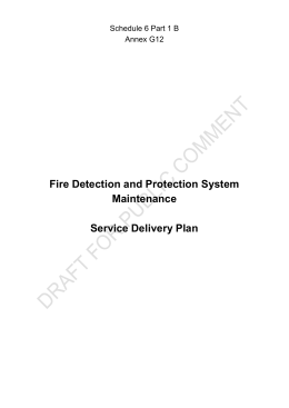 Annex G12 Fire Detection SDP Clean PC
