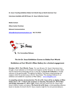 press-release-for-the-art-of-dr--seuss