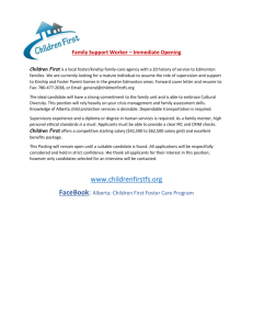 KinshipAD - Child & Youth Care Association of Alberta