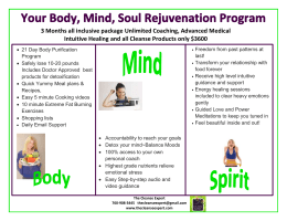 body mind spirit cleanse