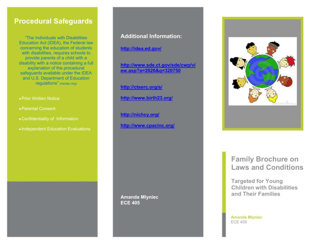 ECE Family Brochure