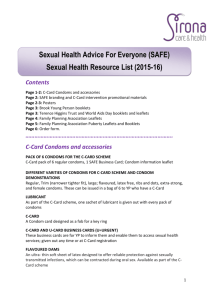 Sexual Health Resource List