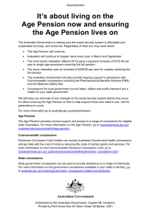 Pension Lives On