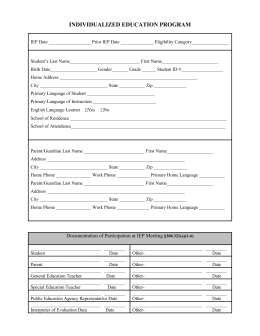 Accommodations and modifications checklist rice blank iep form pronofoot35fo Image collections