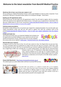 Newsletter June 2015 - Benchill Medical Practice