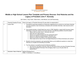 HS Lesson Plan Oral Histories