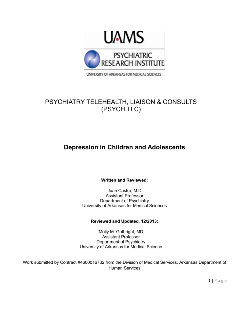 Depression In Children And Teens Aacap >> Depressive Disorders In Children And Adolescents