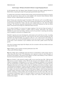 full press release. - South Georgia and the South