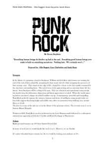 Postmodernism and Punk Subculture: Cultures of