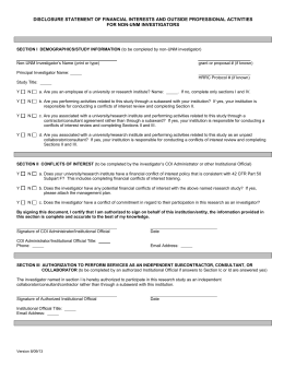 Non-UNM COI Disclosure Form (Word)