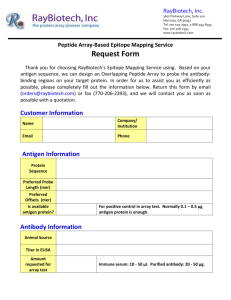 RayBiotech Epitope Mapping Service