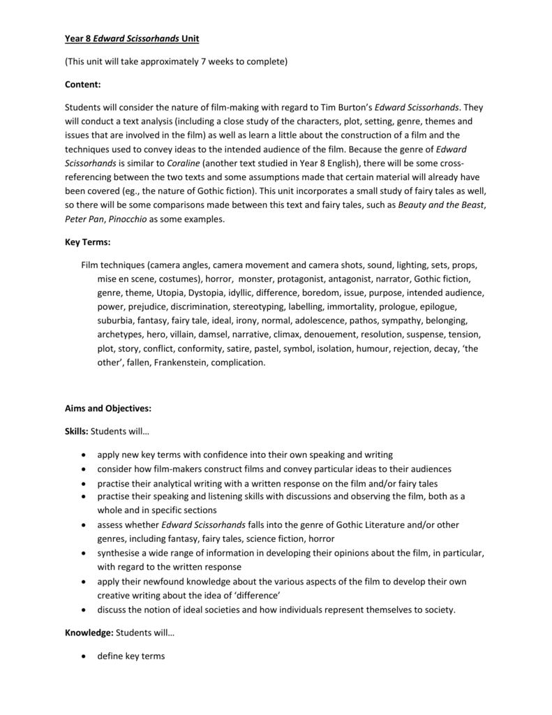 Examples Of Essay Papers Caffeefdfcacbcpng Healthy Lifestyle Essay also How To Start A Synthesis Essay Year  Edward Scissorhands Unit Do My Assignment Australia