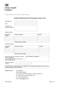 repeat sample request form