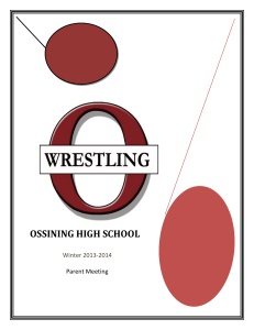 Parent Info Packet - Ossining Union Free School District