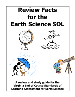 earth-Science-SOL-review-book