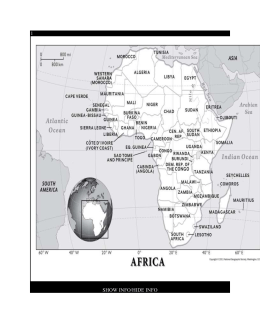 Africa - geographic information condensed