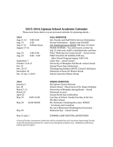 Calendar - University of Memphis