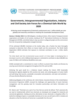 Governments, intergovernmental organisations, industry