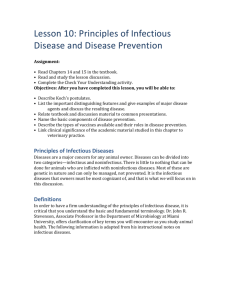 Principles of Infectious Diseases