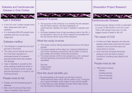 Dissertation Patient Leaflet - Dissertation Project Reseach
