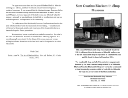 The History of the balcksmith pamphlet