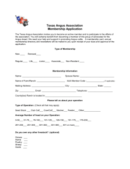 View & Membership Form