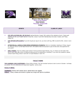 Bulletin - Mission Oak High School