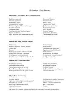 chemistry 20 task list. Black Bedroom Furniture Sets. Home Design Ideas