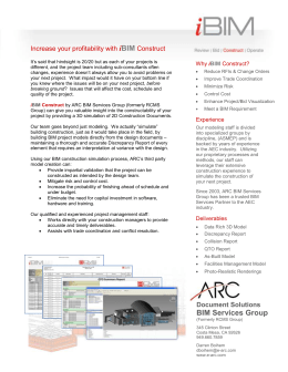 Product Sheet - ARC Document Solutions