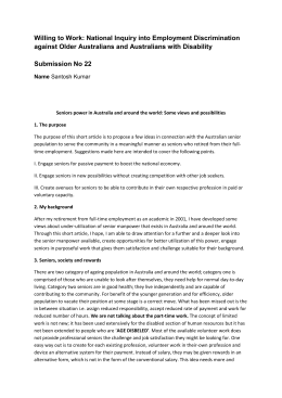 Submission No 22 - Australian Human Rights Commission