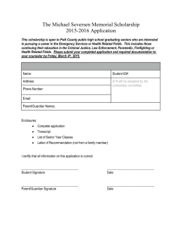Application - Luck School District