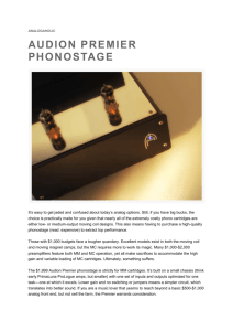Tone magazine on MM Phono