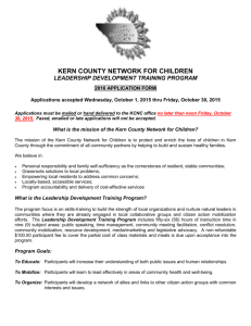 kern county network for children leadership development training