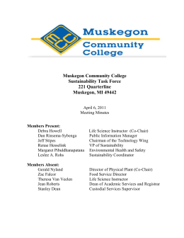 Recycling Containers - Muskegon Community College