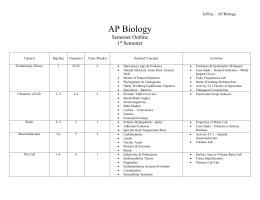 Ectotherm ap biology study