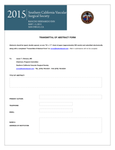 SCVSS 2015 Abstract Transmittal Form-Word Doc