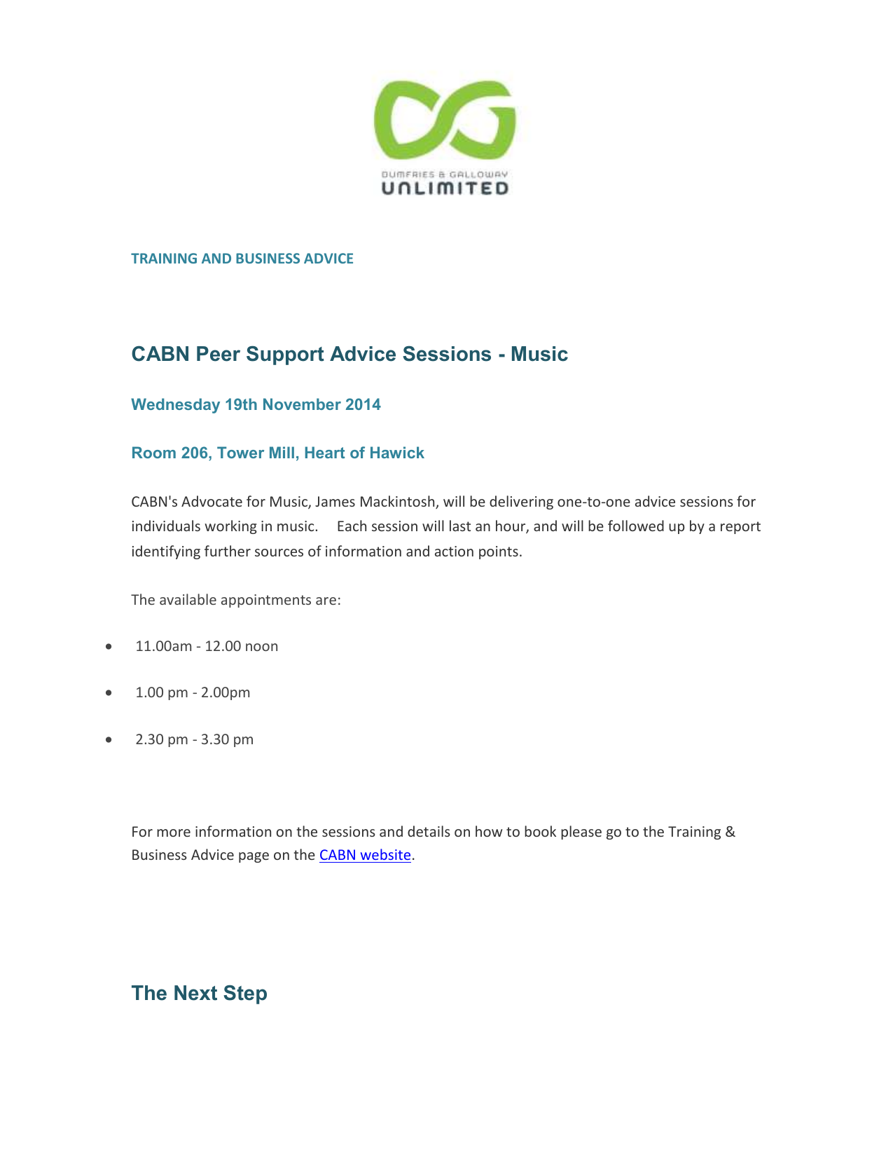 cabn news and opps 06 11 2014
