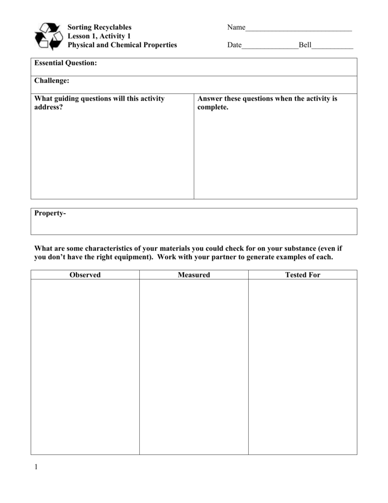 Uncategorized Physical And Chemical Properties Worksheet physical and chemical properties worksheet