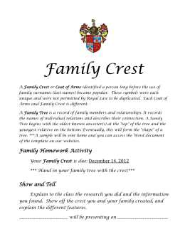 Family Crest Project