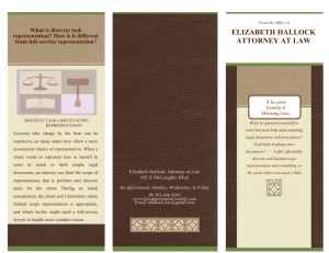 Brochure - The Law Office of liz hallock, jd