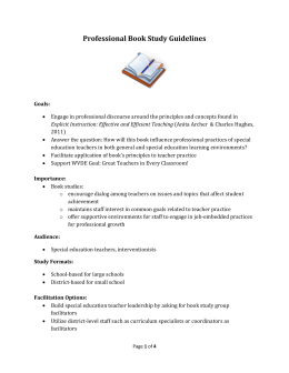 Professional Book Study (Word doc.)