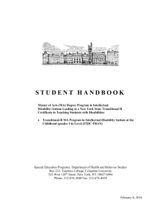 Autism Trans B Handbook - Teachers College Columbia University